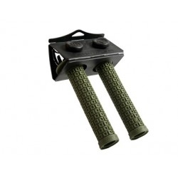 S&M RANDY BROWN GRIPS ARMY GREEN
