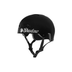 SHADOW CONSPIRACY CLASSIC BMX HELMET YOUTH GLOSS BLACK