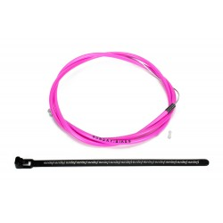 SUNDAY BIKES ZIPLINE LINEAR BRAKE CABLE HOT PINK