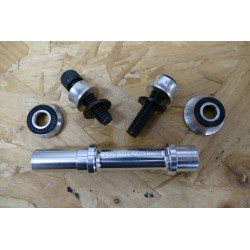 PROFILE RACING MINI HUB 10mm FEMALE REAR AXLE KIT
