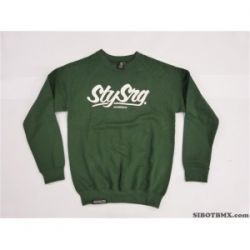 STAYSTRONG LARGE CALI CREW SWEET GREEN