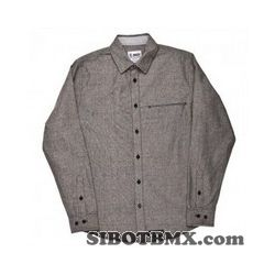QUINTIN RAFAEL SHIRT SMALL GREY