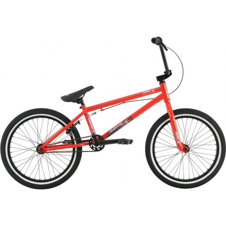 "HARO 2017 DOWNTOWN 20"" BMX 20.3TT GLOSS FST RED"