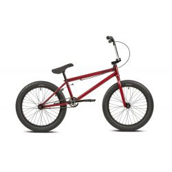 "MANKIND BIKE CO. LIBERTAD 20"" TRANS RED 20.5""TT"