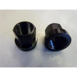 PROPER 14mm AXLE 17mm NUT ALLOY PACK OF 2
