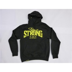 STAYSTRONG SMALL BUILT TOUGH HOODY BLACK/YELLOW