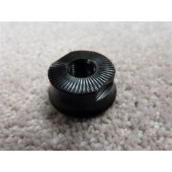 PROPER MALE FRONT HUB CONE NUT WITH KNURL GRIP x1