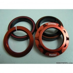 PROPER BIKE CO INTERGRATED SEALED HEADSET 1-1/8 RED