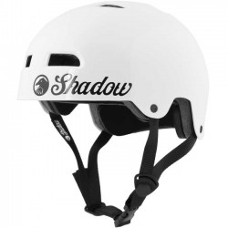 SHADOW CONSPIRACY CLASSIC BMX HELMET YOUTH GLOSS WHITE