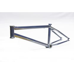 "PROPER BIKE CO TECMATIK 20.7""TT FRAME BLUE CHROME"
