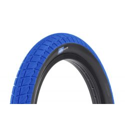 "SUNDAY BIKES CURRENT 18"" TYRE BLUE/BLACK WALL"