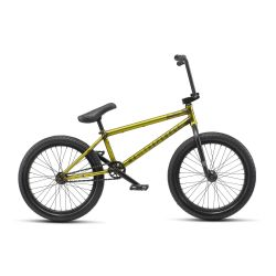 "WETHEPEOPLE JUSTICE 20"" BMX 20.5""TT TRANS YELLOW"