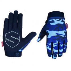 SHIELD PROTECTIVE LITE GLOVES CAMO BLUE MED