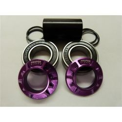 PROPER 19mm MID BB CNC PURPLE MICROLITE