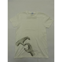 HANDS OF BROTHERHOOD TEE WHITE LARGE