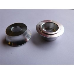 PROFILE MINI FRONT HUB 10mm FEMALE AXLE CONE NUT KIT