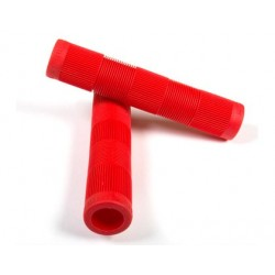 FIT TECH FLANGLESS GRIPS RED